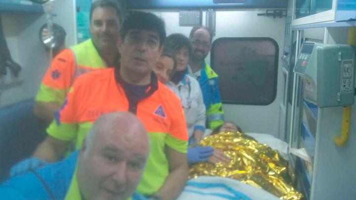 Summa atiende un parto en un coche en la M-501 cuando se dirigía al hospital