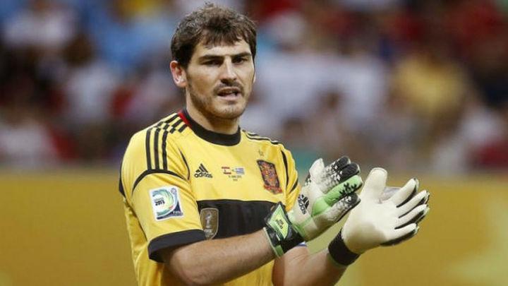 """Casillas: """"No iría a una convocatoria con España para ser suplente"""""""