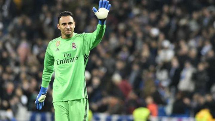 """Keylor Navas: """"Me gustaría retirarme en el Real Madrid"""""""