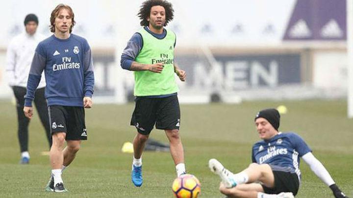 Modric y Marcelo podrían jugar ante el Celta