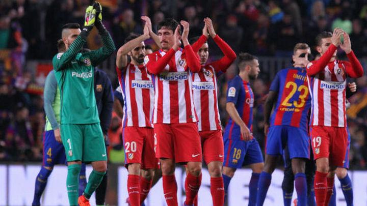 1-1. El Atlético se despide de la Copa con la cabeza alta