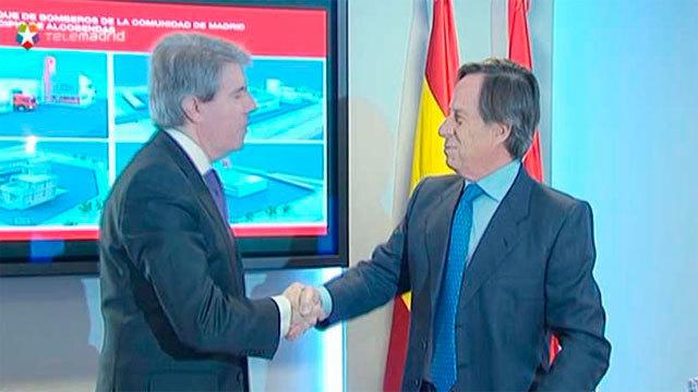 Angel Garrido con Ignacio García Vinuesa