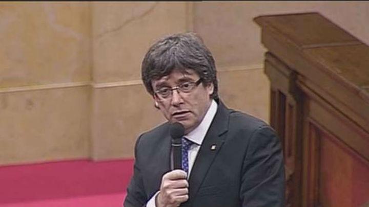 """Puigdemont y Mas reivindican la """"vía catalana"""" frente a otras """"fracasadas"""""""