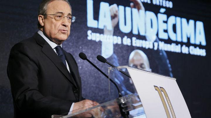 """Florentino descarta el Bernabeú para la final de Copa por """"obras"""""""
