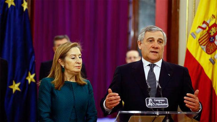 """Tajani sobre Cataluña: """"Las reglas constitucionales del Estado son también reglas para Europa"""""""
