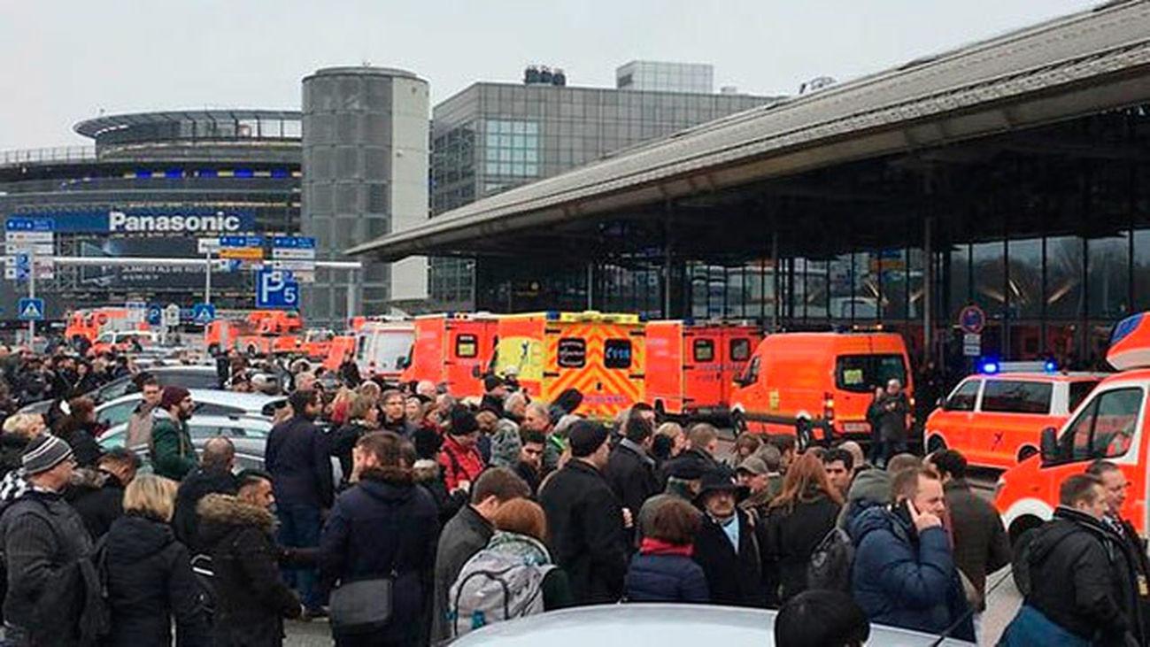 Evacuan el aeropuerto de Hamburgo