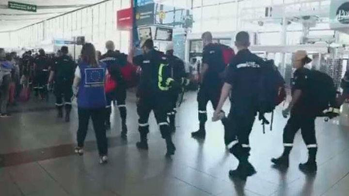 Vuelven a España los militares de la UME que han luchado contra los incendios en Chile