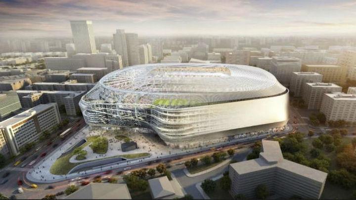 El nuevo Bernabéu crecerá 12 metros de alto y vertebrará un pasillo verde hacia la M-30
