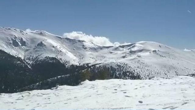 Predicción de aludes en la Sierra