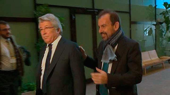 Cerezo y Angel Torres en la Comisión de Investigación de la Asamblea de Madrid