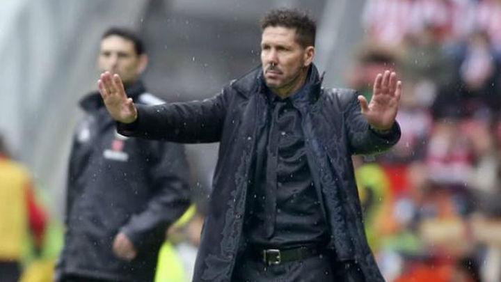 """Simeone: """"El equipo está sabiendo reaccionar tras goles en contra"""""""