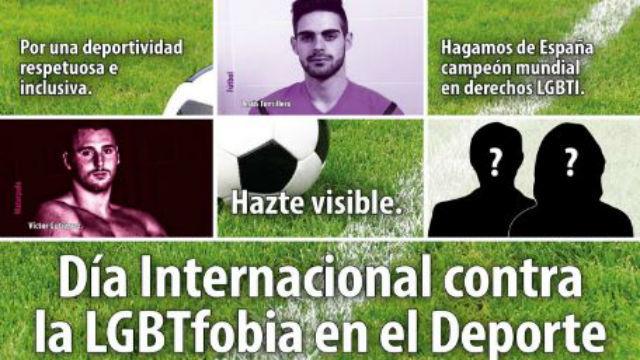 """Paco Martínez: """"el clima de discriminación hace que muchos deportistas no muestren su sexualidad"""""""