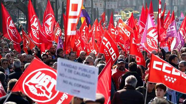 """Los sindicatos vuelven a la calle para reclamar """"empleo y salarios dignos"""""""