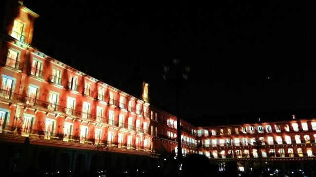 Videomapping en Plaza Mayor