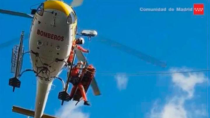 Las intervenciones de los bomberos de rescate en montaña suben un 43% en 2016