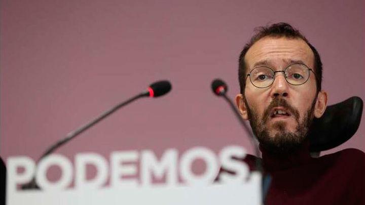 Echenique deja su escaño en las Cortes de Aragón para favorecer la renovación