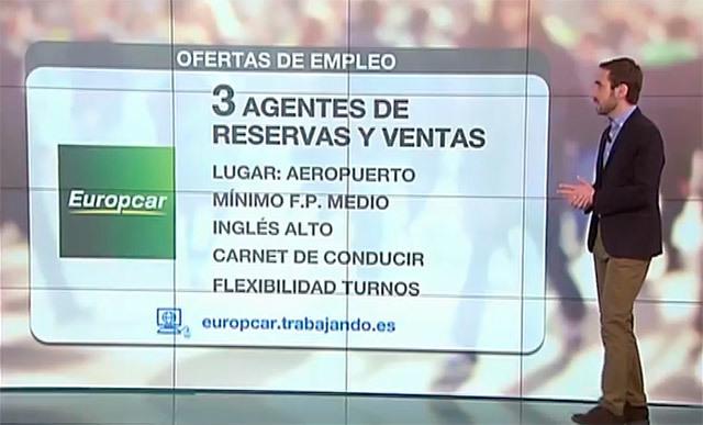 Las ofertas de empleo en Madrid