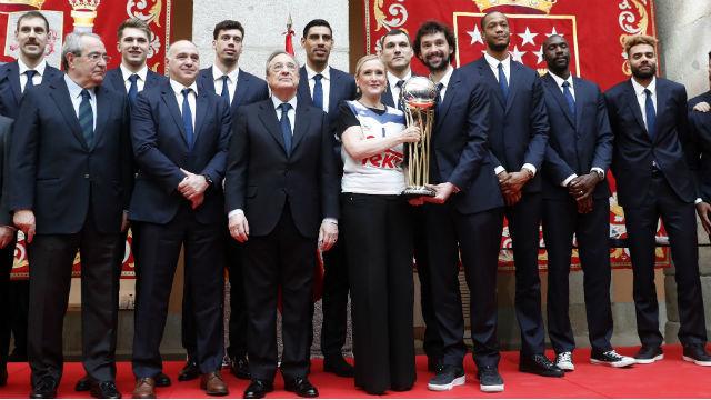 Real Madrid en la Real Casa de Correos