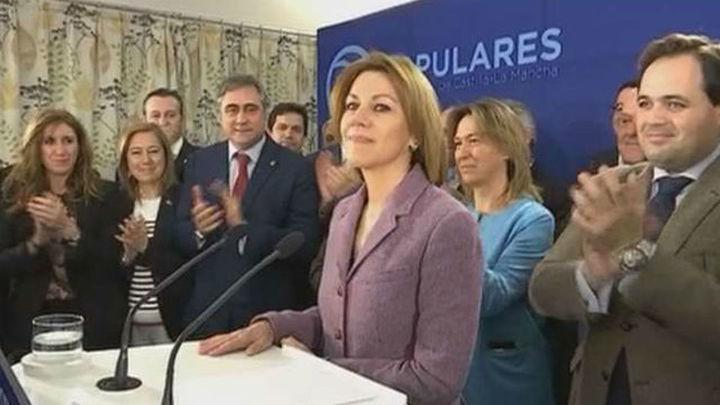 Cospedal anuncia su candidatura para  revalidar la Presidencia del PP de Castilla-La Mancha