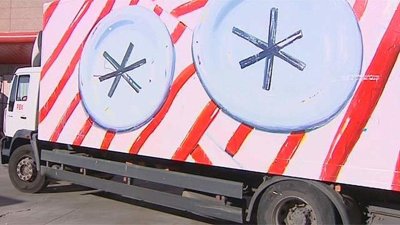 Yo para ser feliz quiero un camión... pintado