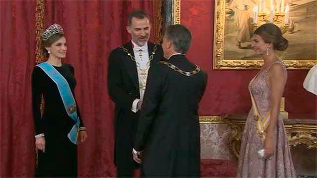 Cena de Gala en el Palacio Real