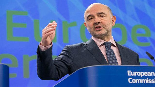 El comisario europeo de Economía y Asuntos Financieros, Pierre Moscovici