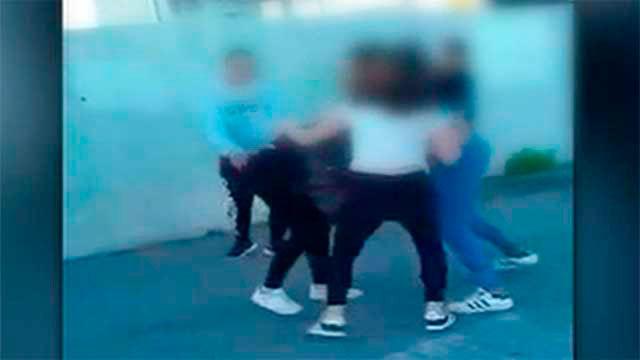 Paliza de adolescentes