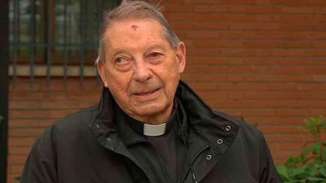 Arturo López, el parroco de San Pedro y San Pablo de Coslada