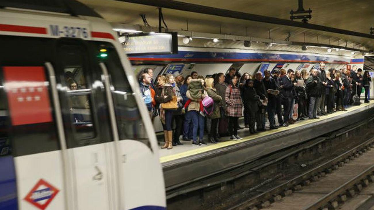 Concluye la primera jornada de paros de Metro sin incidentes