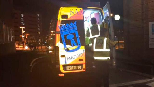 Un joven de 23 años ingresado grave por un disparo en el hombro en Madrid