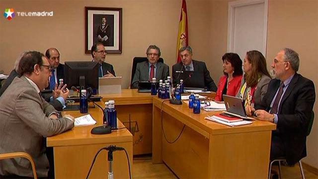 La sala de Gobierno del Tribunal Superior de Justicia de Madrid