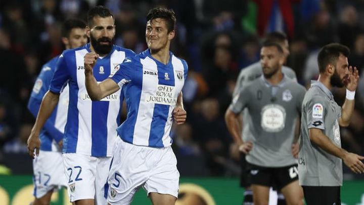 4-0. El Leganés destroza al Deportivo