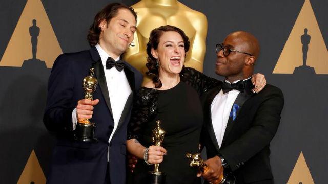 'Moonlight' gana finalmente el Óscar al mejor filme en un esperpéntico final