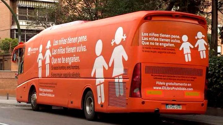 La Audiencia de Madrid permite de nuevo circular al autobús de HazteOír
