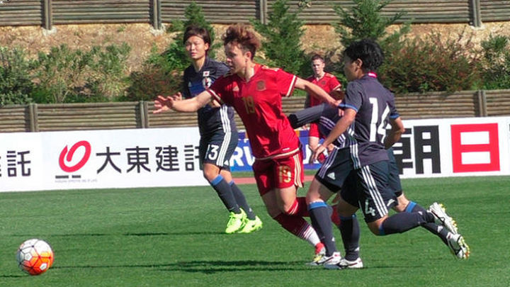 2-1. España vence a Japón en su estreno en la Copa del Algarve