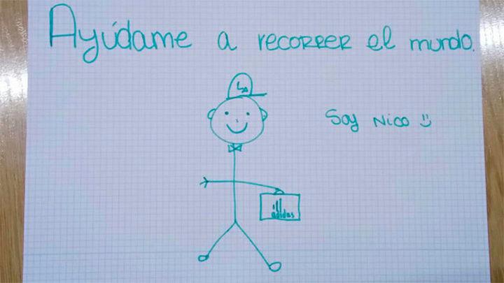 El dibujo de Nico que alerta sobre el uso de las redes sociales