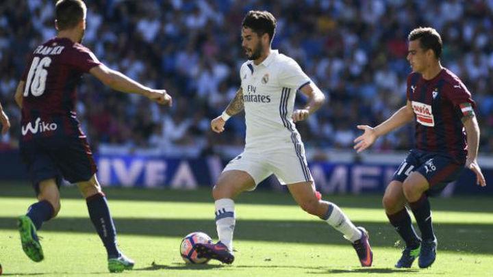 Dura prueba ante el Eibar para un Real Madrid con problemas
