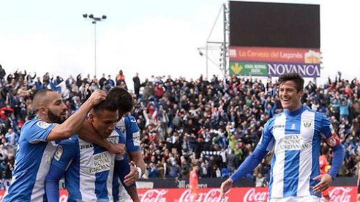 1-0. El Leganés se impone al Granada y aleja el descenso