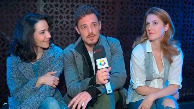 Elisabet Altube, Federico Aguado y Ana Varela