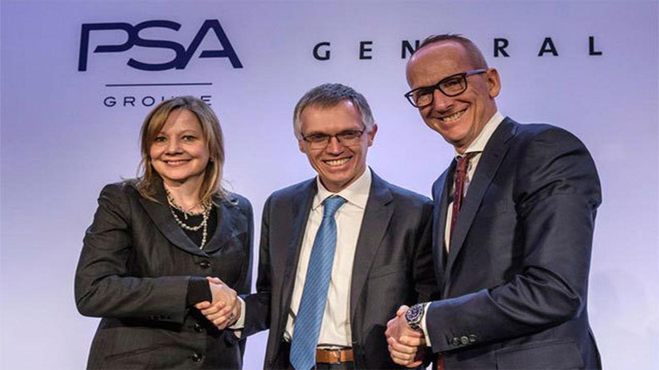 El presidente del Grupo PSA transmite tranquilidad a Rajoy tras la compra de Opel