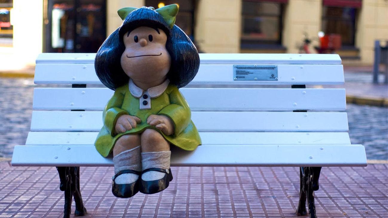 Mafalda, la vecina más popular de San Telmo