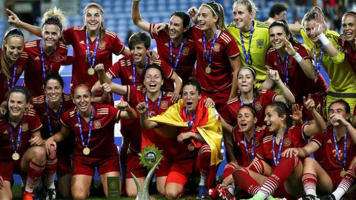 1-0. La selección española, campeona de la Copa Algarve