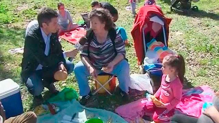 Miles de fuenlabreños participan en el  'Día de la Tortilla'