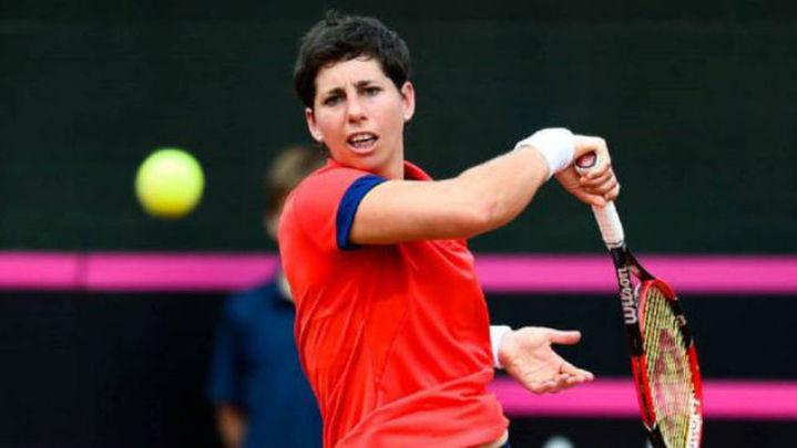 Una combativa Carla Suárez cae en Indian Wells ante Siniakova