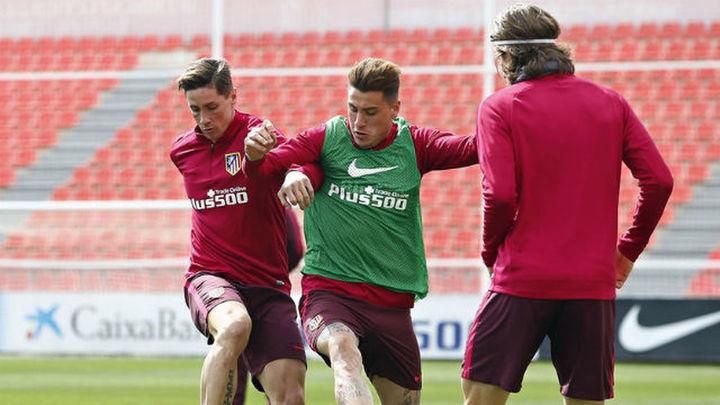 Torres y Gabi regresan a los entrenamientos del Atlético