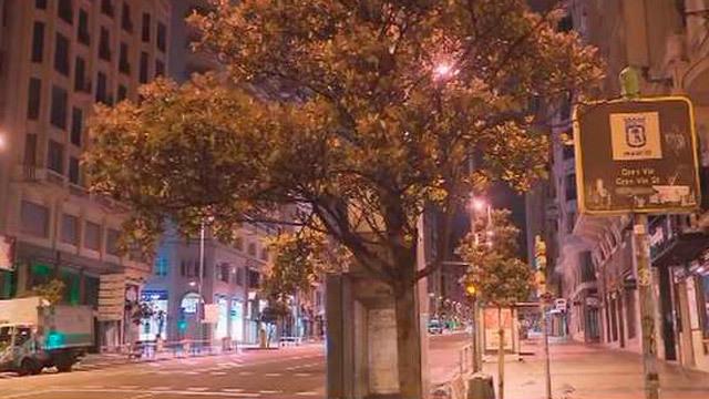 Viento en Madrid