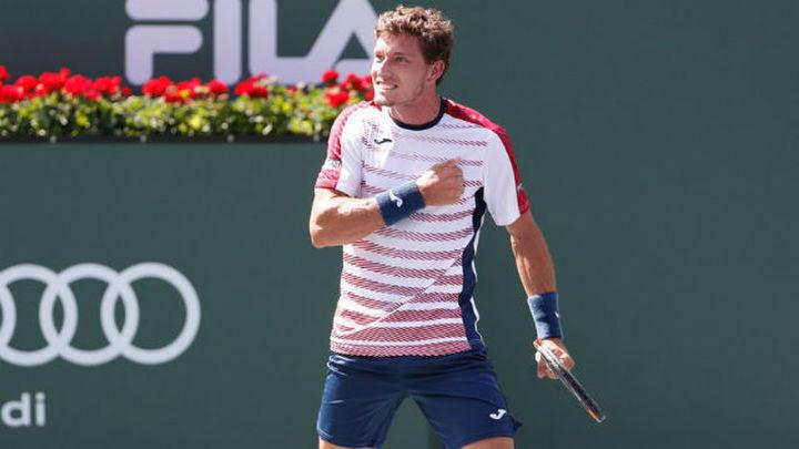 Carreño alcanza los cuartos de final en Indian Wells