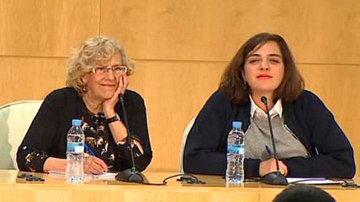 Carmena releva a Celia Mayer del Área de Cultura del Ayuntamiento de Madrid