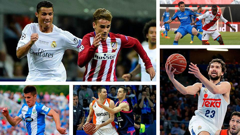 Celta-At. Madrid, Leganés-Athletic y Real Madrid-Eibar