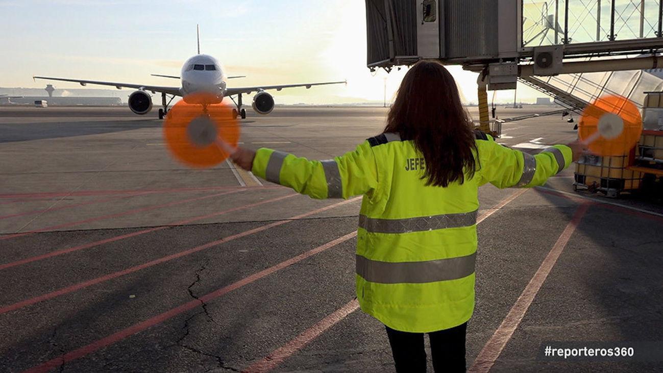 Reporteros 360 recorre la Terminal del Aeropuerto Adolfo Suárez Madrid Barajas